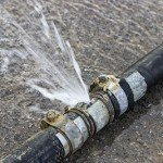 Plumbing Service - burst pipe repair