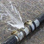 Plumbing Service - burst pipe repair