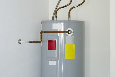 conventional water heater installation