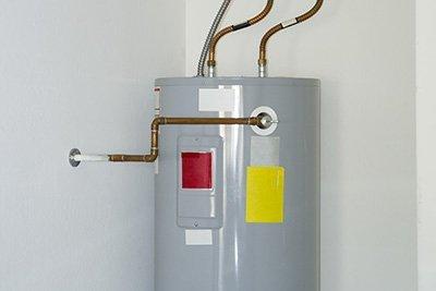 conventional water heater installation